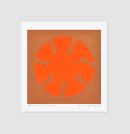 Nicola Green, Circle of Hands V, 2013