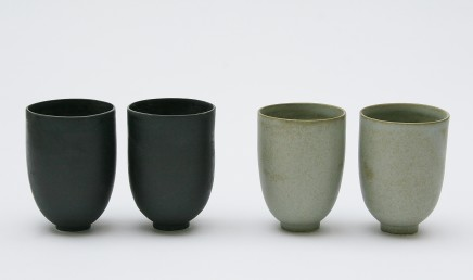 Robyn Hardyman, Two pairs of cups, 2019