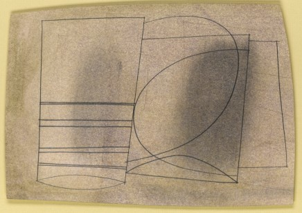 Ben Nicholson, O.M., December 1957 (for Jeanne Coppel)