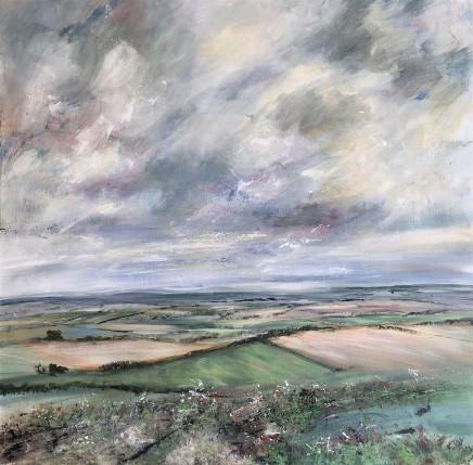 Karen Joy, View Over the Oxfordshire Landscape, 2018