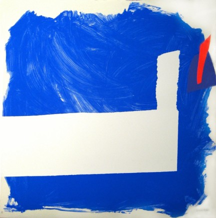 Sandra Blow, Side Effect (Blue), 1991/2