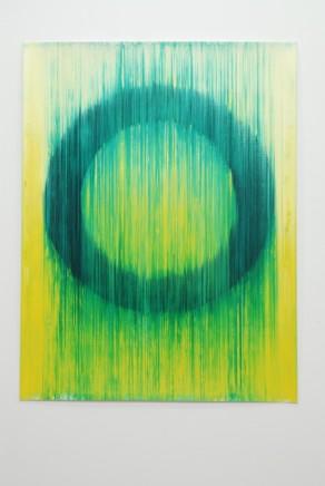 Peter Care, Volatile Ring VII Yellow/Green , 2019