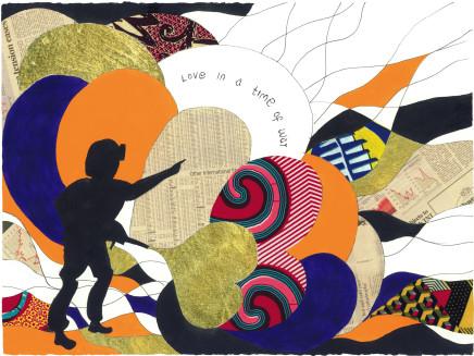 Yinka Shonibare, Love in a Time of War 4, 2015