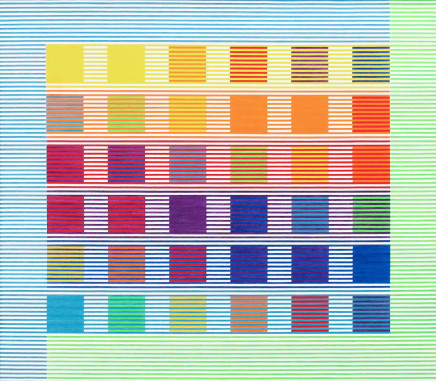 Kathleen Hyndman, 25 Colour Combinations, 1986