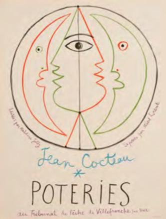 Jean Cocteau, Poteries, 1958