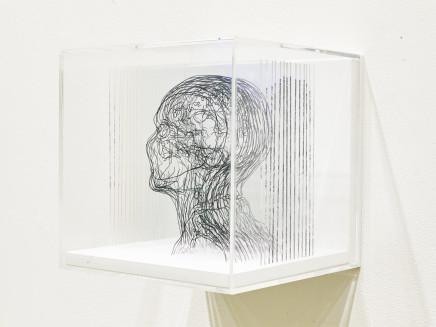 Angela Palmer, Beneath the Surface: Self-Portrait based on MRI, 2019