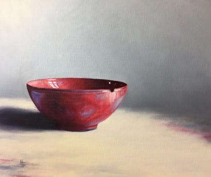 Henrietta Lawson Johnston, Red Bowl, Sep 2019