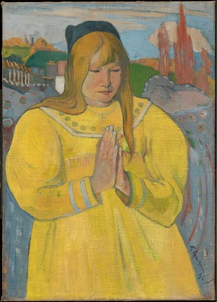 Paul Gauguin (1848-1903), Young Christian girl, 1884, Oil on canvas, 65,3 x 46,7 cm, The Clark Institute, Williamstown, MA, USA