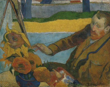 Paul Gauguin (1848-1903), Van Gogh painting sunflowers, 1888, oil on canvas, 73 x 91 cm, Van Gogh Museum, Amsterdam