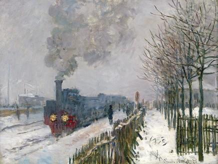 Claude Monet (1840-1926), The locomotive, 1875, oil on canvas, 59 x 78 cm, Musée Marmottan Monet, Paris