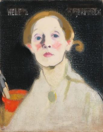 Helene Schjerfbeck (1862-1946), Self-portrait, 1912, oil on canvas, 43,5 x 42 cm, Ateneum Art Museum, Helsinki
