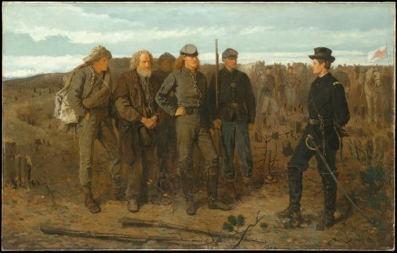 Winslow Homer (1836-1910), Prisoners from the front, 1866, oil on canvas, 61 x 96,5 cm, The MET, New York