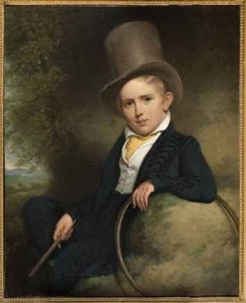 Charles Howard Hodges (1764-1837), Portrait of A.J. Wattendorff aged five, 1832, oil on canvas, 73 x 60 cm, Haags Historisch Museum, The Hague