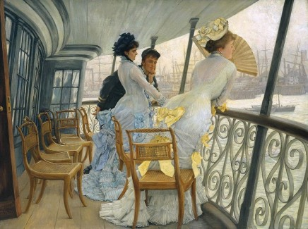 James Tissot (1836-1902), The Gallery of HMS