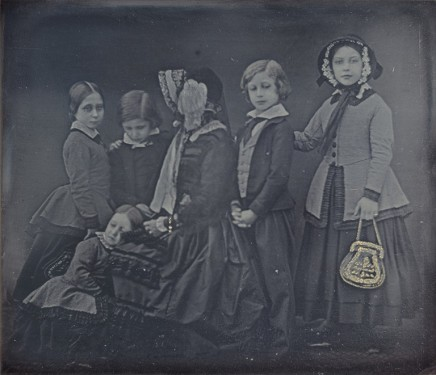 William Edward Kilburn (1818-1891), Queen Victoria and children, 1852, daguerrotype with applied colour, National Gallery of Art, Washington