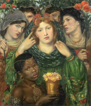 Dante Gabriel Rossetti (1828-1882), The Beloved, 1865-66, Oil on canvas, 80 x 76 cm, Tate Britain