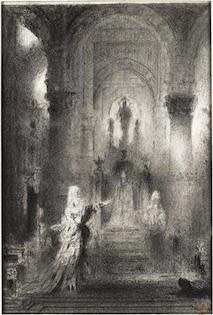 Gustave Moreau (1826-1898), Study for Salome dancing before Herod, Musée Moreau, Paris