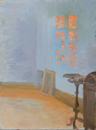 Anna Ancher (1859-1935), In the artist's atelier, after 1913, oil on canvas, Skagens Museum, Denmark