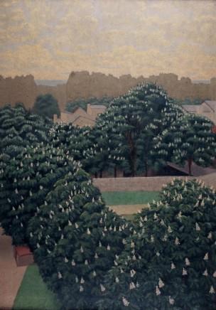 Charles Lacoste (1870-1959), Marronniers en fleurs á Paris, 1900, oil on canvas, Museum of Fine Arts, Brest