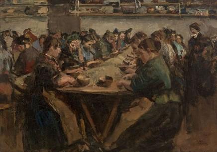 Isaac Israels (1865-1934), The coffee sorters, ca. 1886, oil on canvas, 78 x 100 cm, Museum Boijmans van Beuningen Rotterdam