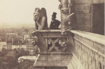 Charles Nègre (1820-1880), Le Stryge, c. 1853, photograph