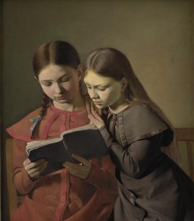 Constantin Hansen (1804-1880), The artist's sisters, 1826, oil on canvas, 65,5 x 56 cm, Statens Museum for Kunst Copenhagen
