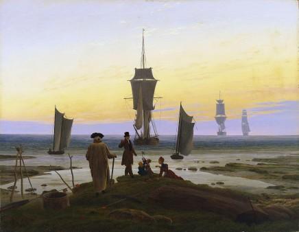 Caspar David Friedrich (1774-1840), Die Lebensstufen, 1835, oil on canvas, 73 x 94 cm, Museum der bildenden Künste, Leipzig