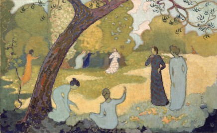 Maurice Denis (1870-1943), July, 1892, oil on canvas, 38,4 x 61,5 cm, Collection Rau
