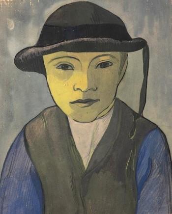 Mogens Ballin (1871-1914), Breton boy, oil on canvas, 1891/2, Hirschsprung Collection, Copenhagen