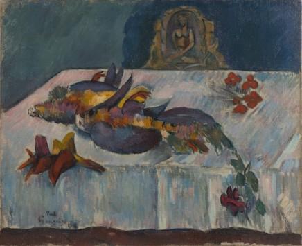 Paul Gauguin (1848-1903), Still life with exotic birds, 1902, oil on canvas, 58 x 71 cm, Von Der Heydt-Museum, Wuppertal