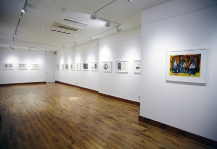 Installation view, Gallery of African Arts