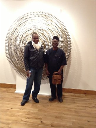 GAFRA IS VISITED BY TWO OF NIGERIA'S ACCLAIMED ARTISTS