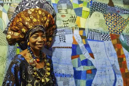 Artist Talk: Nike Davies-Okundaye in conversation with Allyson-Aina Davies