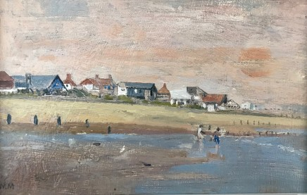 Muriel Mallows At The Beach