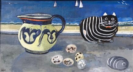 Muriel Mallows Jug and Pebbles