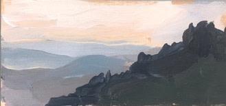 Tin Odescalchi Tuscan Hill