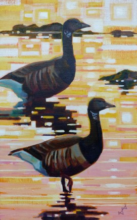 Brin Edwards Two Brent Geese
