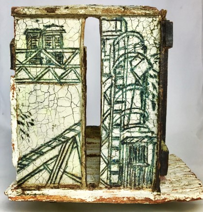 Arabella Ross , Abandoned Sugar Cane Factory, 2016