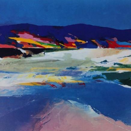 Donald Hamilton Fraser RA, Beachscape, Sutherland, 2003