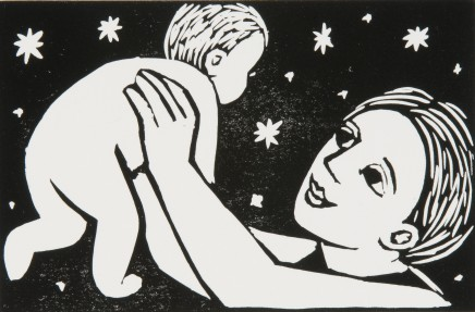Anita Klein , Mother & Flying Baby, 2016