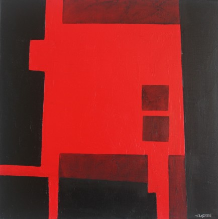 Teresa Lawton, Red Top II, 2018