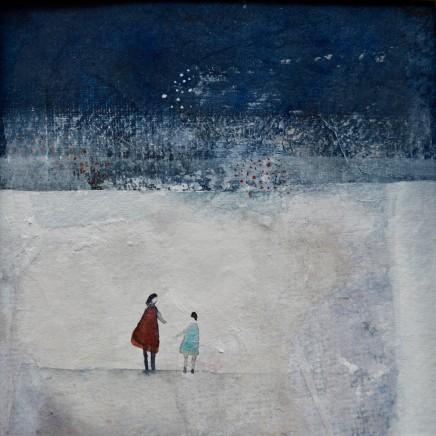Julie Collins, Winter Blue, 2018