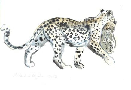 Mark Adlington , 24. Carrying Cub (Arabian Leopard), 2019