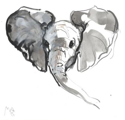 Mark Adlington , 45. Baby Elephant , 2019
