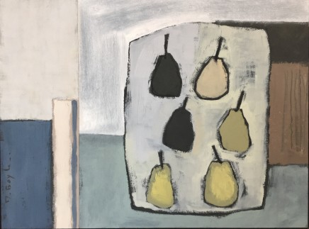 Marie Boyle, Tray of Pears, 2019