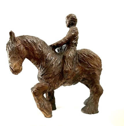 Ant Beetlestone, Horse and Rider, 2019