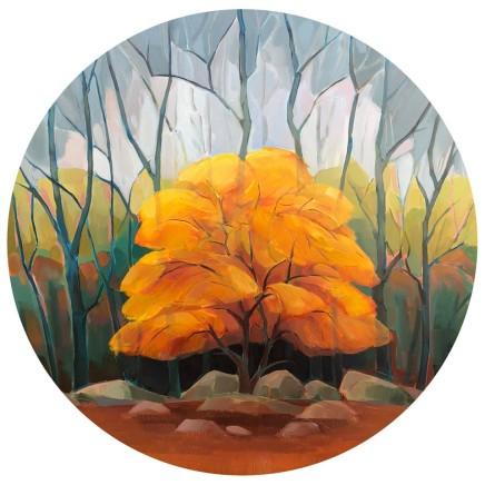 Lindsey Hambleton, Golden Touch of Autumn, 2018
