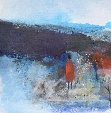 Julie Collins, I Walked into Stranraer in a Red Dress, 2018