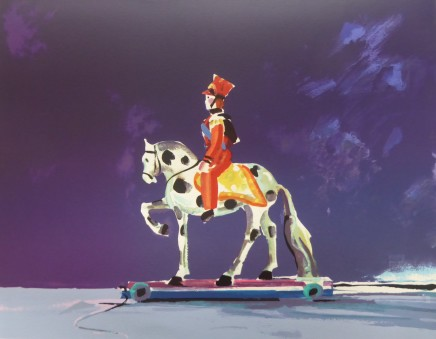 Donald Hamilton Fraser RA, Toy Hussar, 1996