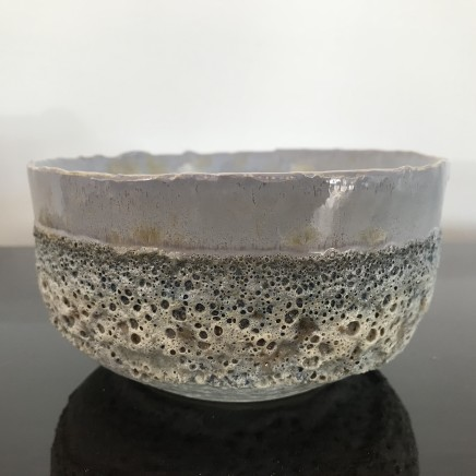 Hilary Laforce, Pearl crystal teabowl, 2019